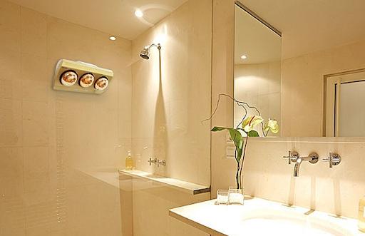 Đèn sưởi nhà tắm tại các hộ gia đình