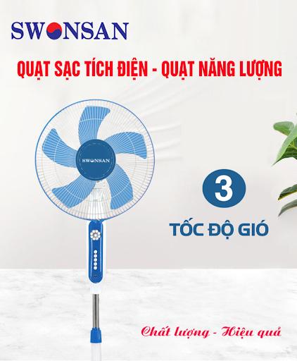 Mẫu quạt năng lượng mặt trời Swonsan BSB – 30.1NL