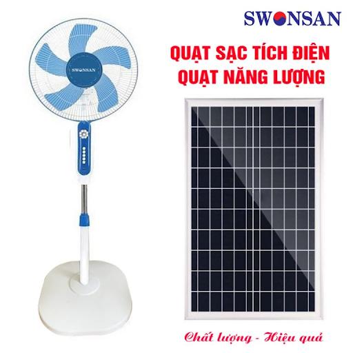Hình ảnh quạt năng lượng mặt trời Swonsan BSC – 40NL